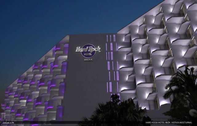 HARD ROCK HOTEL IBIZA VISTA B NOCTURNA