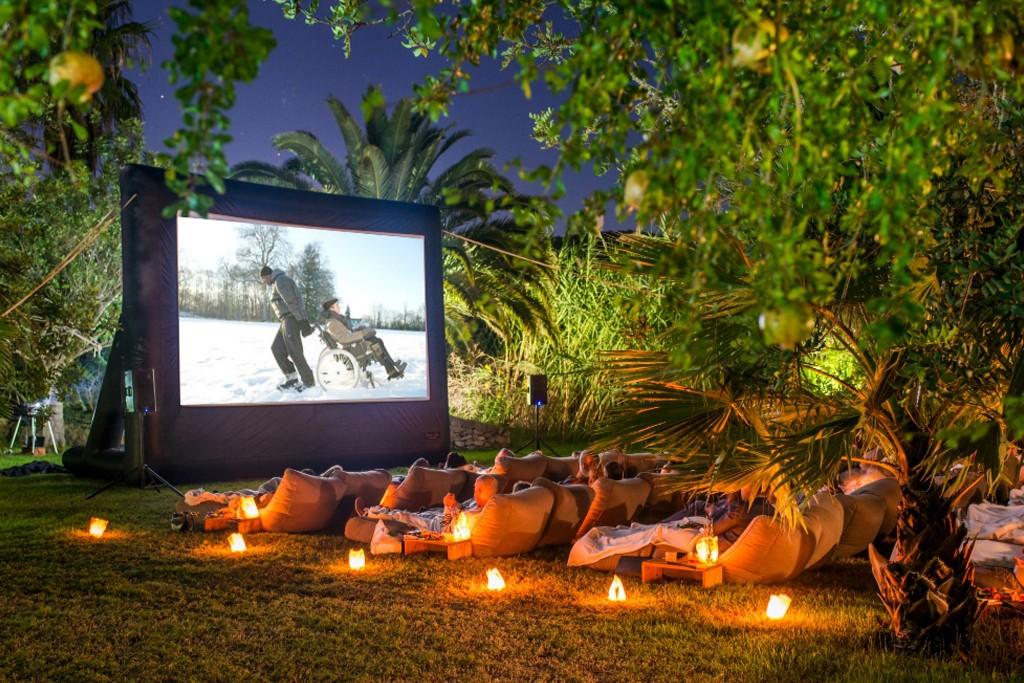 Cinéma en plein air à Ibiza