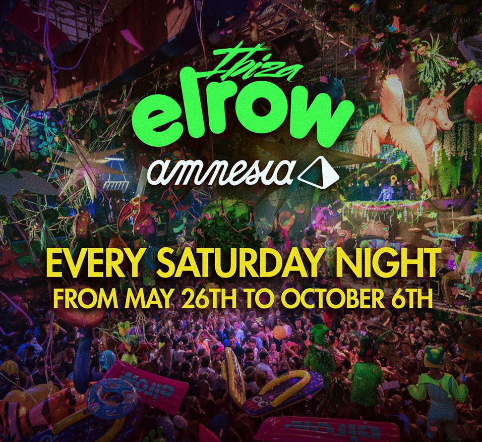 Elrow returns to Amnesia in 2018